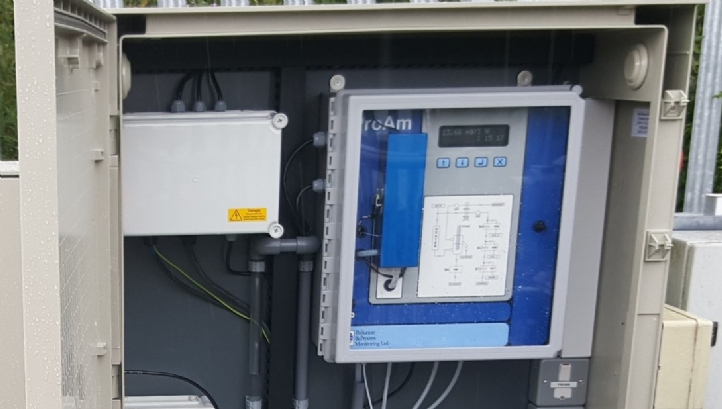 Proam Ammonia Monitor for final effluent compliance monitoring