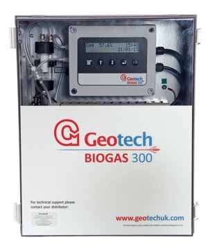 New BIOGAS 300 fixed biogas analyser