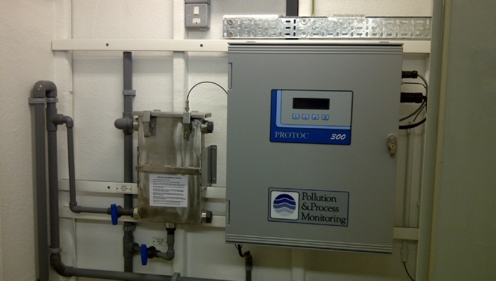 Protoc 300 TOC analyser with MCERTS approval for process & final effluent monitoring