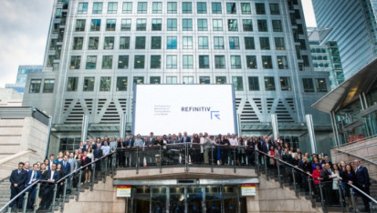 Refinitiv operates in 190 countries worldwide