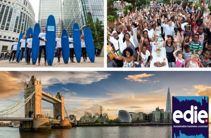 Image credits: Canary Wharf Group and Eden Project Communities
