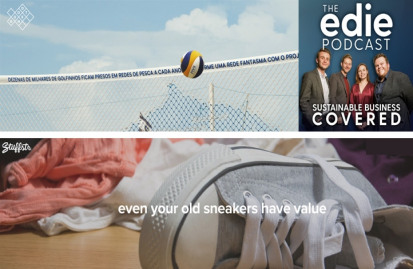 The edie podcast returns for episode 69. Images: Stuffstr (bottom) and Landor