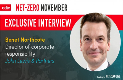 Northcote will be speaking at edie's Sustainability Leaders Forum in February 2020