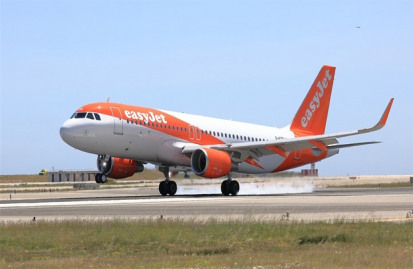 EasyJet will also look to champion carbon capture technologies and sustainable aviation fuels in order to decarbonise its flights and operations. Image: EasyJet