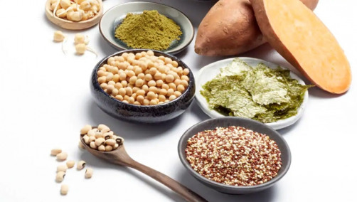 Foods included on the list range from grains, sweet potatoes and pulses, to seaweed and cacti