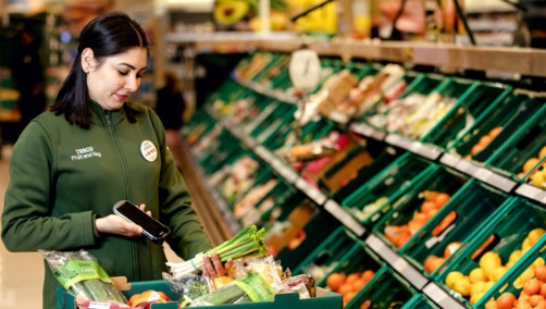 Olio is used by more than two million individuals and organisations. Image: Tesco