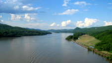 The Hudson River from Bear Mountain Bridge. Photo credit: Rolf Müller