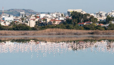 The port city of Larnaca, Cyprus, hosts one of the country's largest desalination facilities