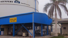 The new Lanxess RO system at fertiliser manufacturer Alexfert, In Alexandria, Egypt, is fed by the River Nile