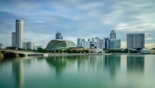 The new desalination plant will be located on the east side of Singapore's Marina Bay