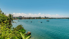 Mombasa City on the coast of Kenya is the country's second largest city behind capital Nairobi