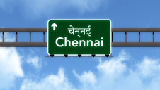 Chennai city in Tamil Nadu state, south India, is among the most water scarce places in the country