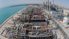 Az Zour North IWPP desalination plant was shut down temporarily amid oil spill