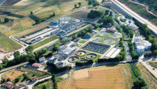 Burgos wastewater treatment plant serves a population of one million in Spain's Castile and Leon region