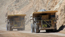 BHP Billiton's Chuquicamata mine, Chile, is the largest open pit copper mine in the world