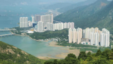 The project south of Lantau Island is Hong Kong's first integrated waste management facility