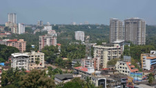 Mangaluru is the main port city in Karnataka state, and is situated on the Arabian Sea