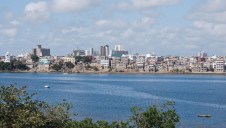 The city of Mombasa on the Indian Ocean has an estimated population of 1.2 million