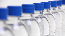 PET is commonly used to manufacture water bottles and clothing