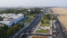 The new desalination mega-plant will be located on the East Coast Road in Chennai, India