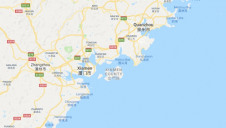 Kinmen County is located just three miles off the coast of China