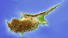 Cyprus has 650 kilometres of coastline in the Eastern Mediterranean