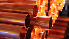 The new desalination facility will support production of copper at the mine in northern Chile