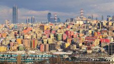 The skyline of Istanbul, Turkey - a nation that is currently 73% urbanised and projected to be 80% urbanised by 2030