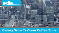 Coffee cups, lids and coffee grounds generated by over 300 shops, bars and restaurants across the 12-acre Canary Wharf Estate are now recycled through the use of designated bins