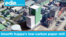 Smurfit Kappa's €134m (£120m) investment in new technologies at its Nettingsdorf Paper Mill will significantly reduce emissions while increasing production output