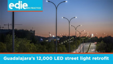 The 12,000 LED retrofit has seen Guadalajara generate immediate electricity savings of approximately 68% compared to the previous lighting system