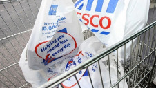 Select Tesco stores will sell only reusable bags in a 10-week trial that could lead to the single-use bags being phased out in all of its stores