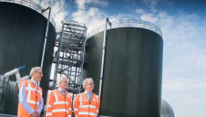 Members of the European Investment Bank visit Welsh Water's Five Fords treatment site in Wrexham
