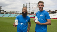 England bowlers Moeen Ali and Stuart Broad are supporting the Sky Ocean Rescue initiative, which is encouraging consumers to reduce the use of single-use plastics
