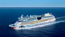 Carnival's AIDAprima is the first cruise ship in the world with a dual-fuel engine that can be powered by LNG when in port