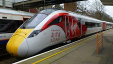Researchers expect further emissions savings through the introduction of the new Virgin Azuma train