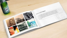<p>Heinken UK's storybook notes a series of achievements in its attempts to reduce water and energy consumption</p>
