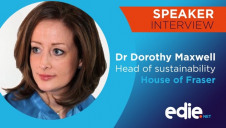 House of Fraser's head of sustainability Dr Dorothy Maxwell is among the expert speakers that will appear on stage at edie's Responsible Retail conference in September
