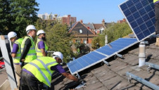 More than 40 social landlords including local authorities will be involved across England and Wales. Photo: Solarplicity