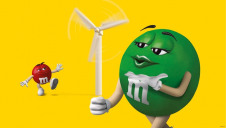 Leveraging the promoting power of one of the world's biggest brands, M&M's, Mars will call on consumers to champion renewable energy and combat climate change