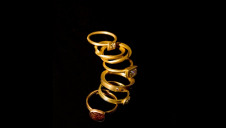 Cox and Power rings made using Fairtrade Gold Image: Ian Berry, Magnum Photos.