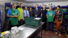 Bournemouth Finance Team receives top prize and sends £100 worth of donations to Bournemouth Food Bank