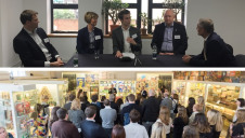 Representatives from Tetra Pak, Iceland and James Cropper met at the Museum of Brands