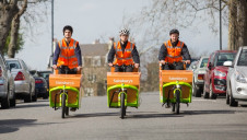 Once online delivery orders have been placed, Sainsbury's will utilise routing technology to determine which deliveries are suitable for e-bikes