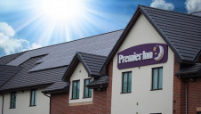 Smart heating has been installed along with the solar arrays to minimise energy consumption at Premier Inn hotels