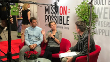(L-R): Surfdome's Adam Hall and A Plastic Planet's Henri Allen sit down with edie's Matt Mace in the first episode of the Mission Possible sofa interviews