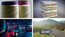 Waste-milk yarn and solar panels for televisions are just some of this week's innovations