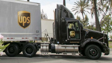 UPS operates around 9,100 alternative fuel and advance technology vehicles globally