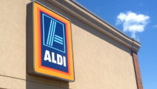 Aldi's sustainability report updates progress towards a goal of reducing greenhouse gas emissions generated per m2 of sales floor by 30%
