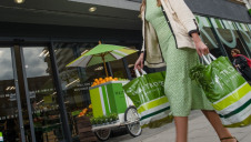 The move is aimed at encouraging customers to use reusable bags for life or fabric alternatives
